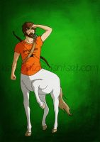 Chiron - The Centaur by Kat-Anni