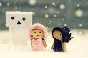 The Snow-Danbo by Brigitte-Fredensborg