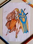 Leona / League Of Legends - Drawing by TheSaikoOF