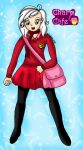 Indira-Scarlet Rose Winter Uniform by Animecolourful