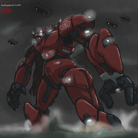 Crimson Typhoon by Keilink