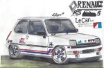 82' Renault 5 by Mister-Lou