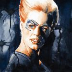 Star Trek Voyager - Seven of Nine by GrayscaleArt