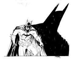 Batman sketch by ChristianDiBari