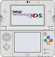 New Nintendo 3DS [White] by BLUEamnesiac