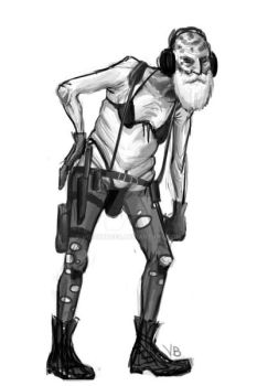 The End in Quiet's Tactically Sound Sniping Gear by VoidBurger