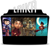 Laika Entertainment Studio Icon Folder by Mohandor