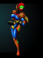 Samus- Suit Fusion by Cryophase