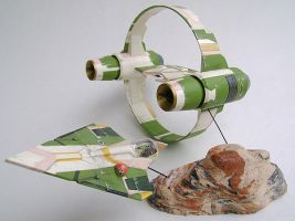 Kit Fisto starfighter 1 by AngelHughes