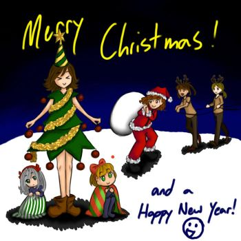 Merry Christmas and a Happy New Year! :D by ErikaNegi