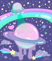 Kawaii Space by MissJediflip