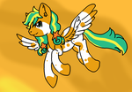 :.AT:. Flight at Sunset by Pony-PetShop