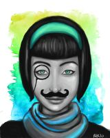 'Stache by deruku
