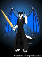 COM : Sash with Annihilation Blade by whiteguardian