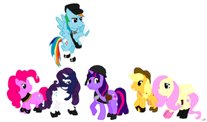 TF2 My little pony FIM WIP by MochiFairy