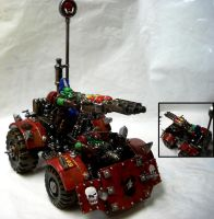 Ork Spike Buggy by Snowfyre