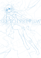 Commission: Aoi WIP by lires
