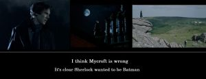 sherlock is batman by hpwolffreak