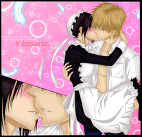 Kaichou Wa maid Sama Misaky and Usui Kiss by themisaki66