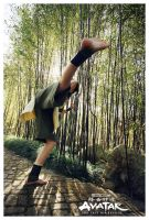 Avatar : Toph Bei Fong KICK by beethy