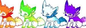 CLOSED Gradient Fox Adopts 24 HOUR AUCTION by Adopt-a-Cute