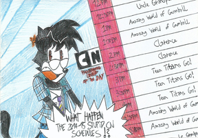 I really HATE the CN 2014-2015 Schedule! by FelixToonimeFanX360