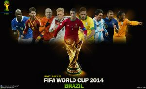 FIFA World Cup 2014 Wallpaper by jafarjeef