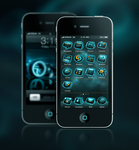 Tron:Legacy iOS Iconset by royal-nightmare