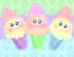 Ice cream wallpaper by murky-otaku