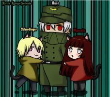 Schrodinger, Hans and Me  ~ by MarcelaHyuuga