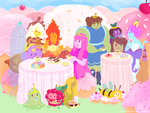 Tea Party Time by Kirokokori