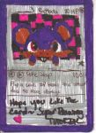 ________________'s Rattata Hand Drawn Card by pikachupokemon123