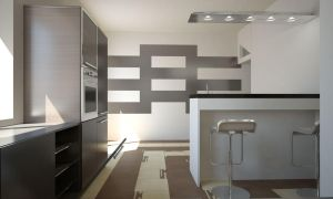 pure white noise kitchen by rOSTyk