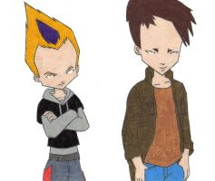 two cool guys by thatguy4802