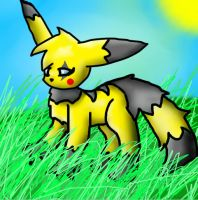 im standing in grass 8D by sweetcookie535