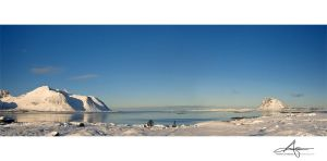 Winter Pano by Stridsberg