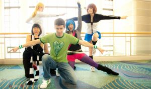 Scott Pilgrim Force by CosplayCousins