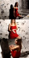 Untitled Triptych 3 by LightrayPhotography