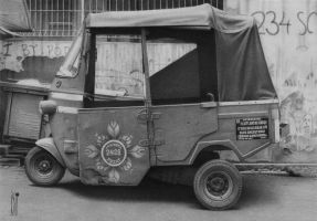 Old Bajaj by toniart57