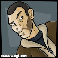 Niko Bellic by wibblethefish