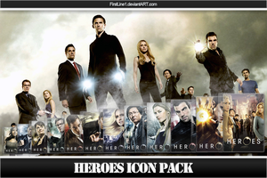 Heroes Icon Pack by FirstLine1