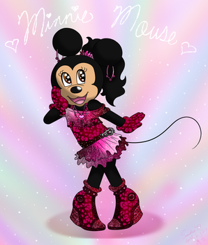 Cutie Pop Minnie by Colorfulmoongato