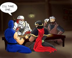 Ninja poker by Ritualist