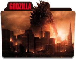 Godzilla Folder Icon by jesusofsuburbiaTR
