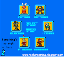 Rockman 1 Navi select screen by RockmanCXDEZZR