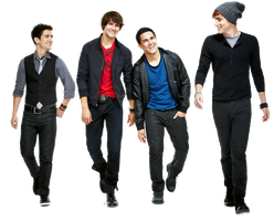 PNG de Big Time Rush by princecity