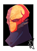 Deathstroke by MAGAM88