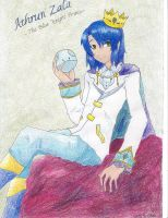 Athrun-The Blue Knight Prince by KirakoRora