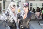 Animazement 2015:Catwoman and Black Cat by TokyoGeist