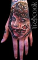 Creepy Hand by LizCookTattoo